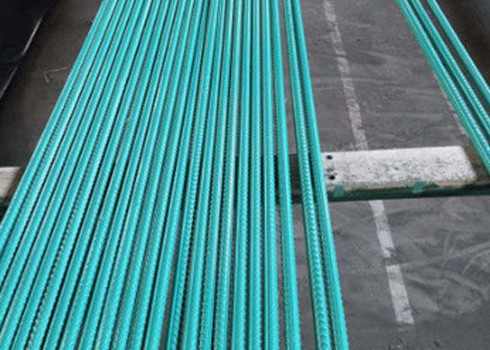 Cina High Gloss Smooth Interior Rebar Epoxy Coating Non Toxic High Bond Strength pemasok