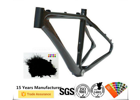 Electrostatic Spray Frame Powder Coating, Efek Metalik Lapisan Serbuk Unik