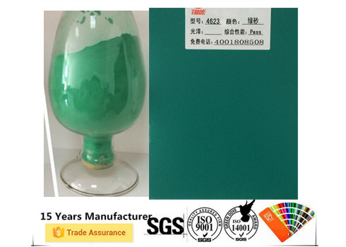 Thermosetting Polyester Powder Coating Full Color Impact Resistance